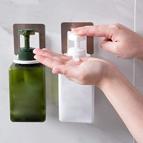 LIANA IRWIN Duschgel Halterung klein Shampoo Seife Halterung Selbstklebend ohne bohren Wandhalterung Badezimmerregal