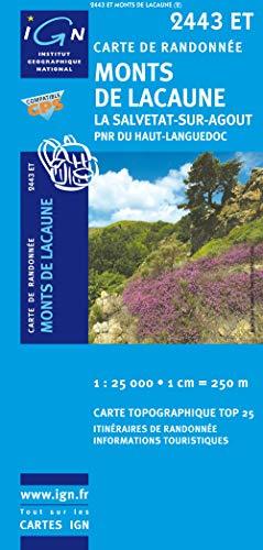 Monts de Lacaune/La Salvetat-sur-Agout PNR GPS: IGN.2443ET