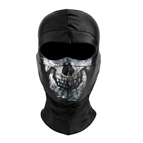 Black Call Mask of Duty Cloth Mask Props Cosplay for Men Women