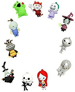 Nightmare Before Christmas Series 3 - 3D Foam Key Ring Blind Bag