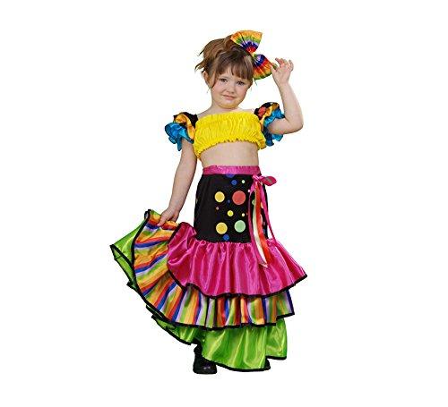 Disfraz de Salsa para niñas de 3 a 4 años