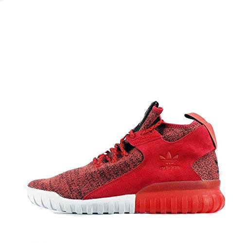 adidas Tubular X Zapatillas de carrera para hombre, Rojo (Red Red Red Bb1488), 27 EU