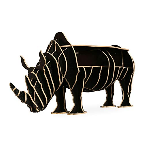 Lo + deModa rhinocéros – Table Basse, Noir