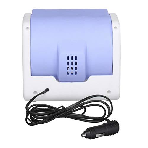 VOSAREA Mobile Mini Klimaanlage USB Tragbare Luftkühler Kleines Klimagerät mit Ventilator Kühler mit Zigarettenanzünder Adapter Auto Raumkühler für Zimmer LKW