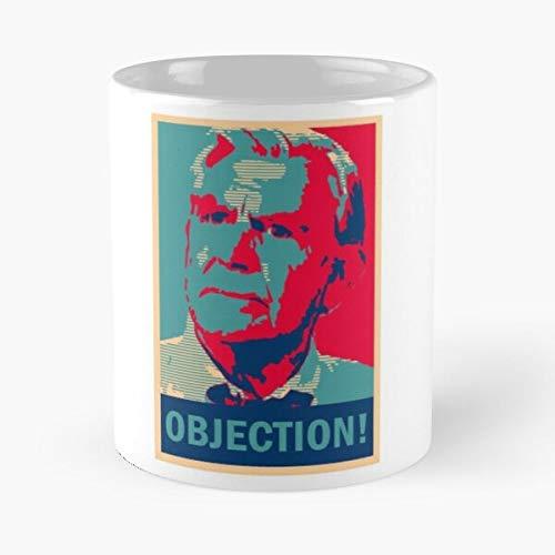 Matlock Obama TV Objection Election Hope Series Eat Food Bite John Best Kaffeetasse aus Keramik, 313 ml