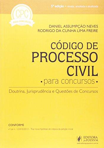 Código De Processo Civil Para Concursos