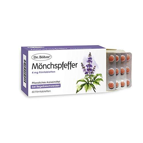 Dr. Böhm Mönchspfeffer 4 mg Tabletten bei Regelbeschwerden, 60 St. Tabletten