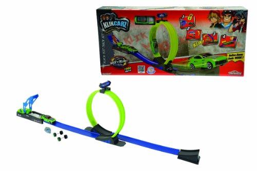 Smoby Majorette - 212050104 - Véhicule pour Enfant - Klikcarz Track Set + Lanceur