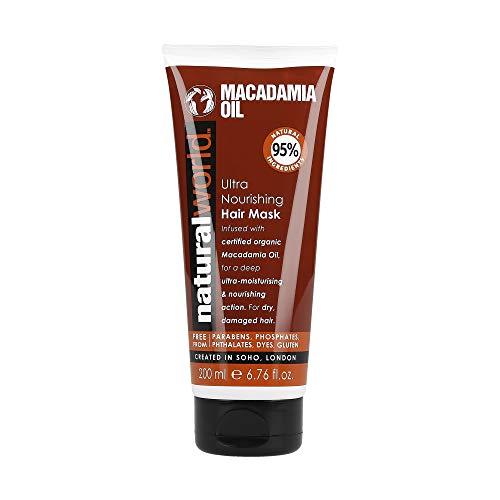 Natural World Macadamia – Ultra nourrissant Cheveux Masque 200 ml
