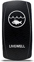 CH4X4 Marine Rocker Switch Livewell Symbol 3