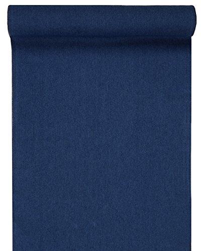 SANTEX 5196-8-28, Chemin de Table Jean, Bleu foncé