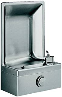 semi recessed drinking fountain
