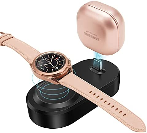 2 in 1 Charger Station for Samsung Watch and...