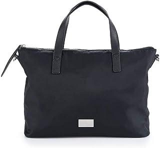 comprar comparacion PACO MARTINEZ | Bolso de mano nylon negro casual |Incluye asa bandolera extraíble