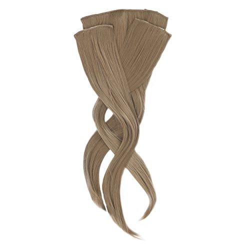 Glamour STYLE Kit de 3 Extensions de Cheveux Synthétiques Fixations Anti-Glisse Coloris Aléatoire