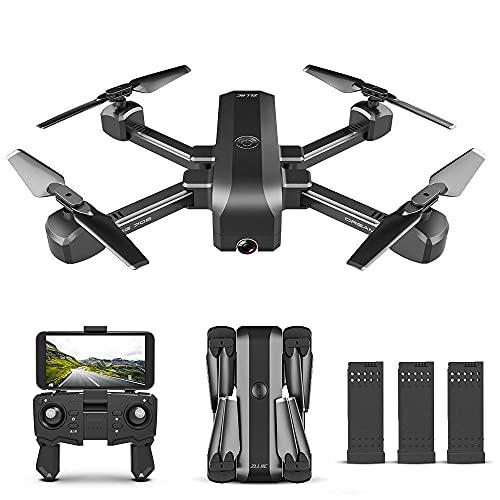 Quadricottero RC, Sg706 Drone RC con doppia fotocamera 1080P Immagine di posizionamento del flusso ottico Segui App Controllo gesti Drone quadricottero pieghevole per scatola di immagazzinaggio della