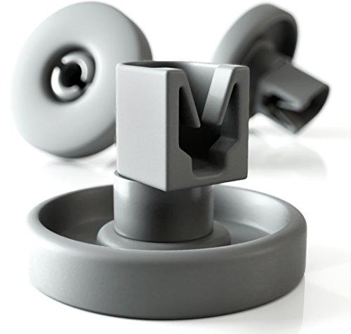 Ruedas lavavajillas de Plemont [cesta inferior] ruedas de lavavajillas para muchos comunes lavavajillas de Bosch Zanussi Miele etcétera - ruedas bandeja lavavajillas