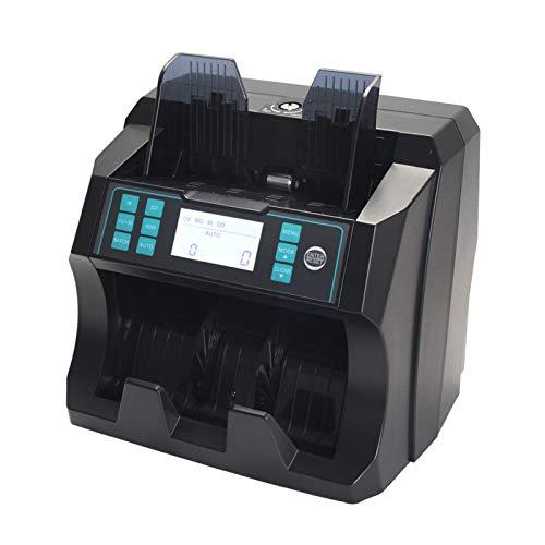 TYX-SS Banconote Denaro Contatore,con Display LCD UV MG IR Conteggio Rivelatore di Banconote False Contasoldi Conta(EUR/GBP/USD)