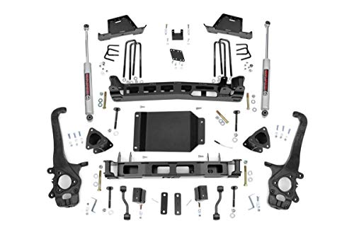 Rough Country 6' Lift Kit (fits) 2004-2015 Titan | N3 Shocks | Lifted HD Knuckle Suspension System | 875.20