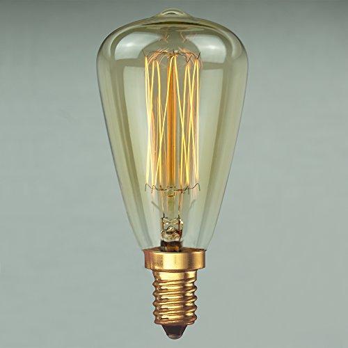 Vintage Retro Edison Glühbirne 40W E14 – Vollständig Dimmbar Antike Glühfaden 48mm - The Retro Boutique ®