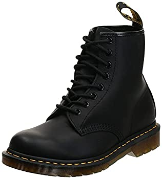 Dr Martens Unisex 1460 8 Eye Boot Black Greasy 8 US Women/7 US Men