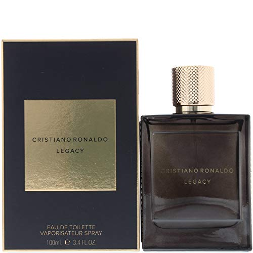 Christiano Ronaldo Legacy homme/men, Eau de Toilette, Vaporisateur/Spray, 1er Pack (1 x 100 ml)