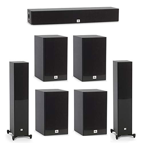 Lowest Price! JBL 7.0 System with 2 JBL Stage A170 Floorstanding Speakers, 1 JBL Stage A135C Center ...