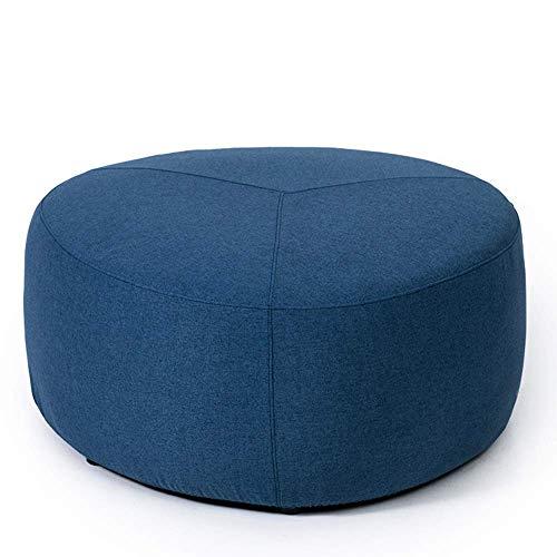 JIEER-C slaapzak, voetenbankje, sofa, luider, wasbaar, stof, kruk, comfortabel, ademend voor thuis (kleur: grijs, maat: A) C Blauw