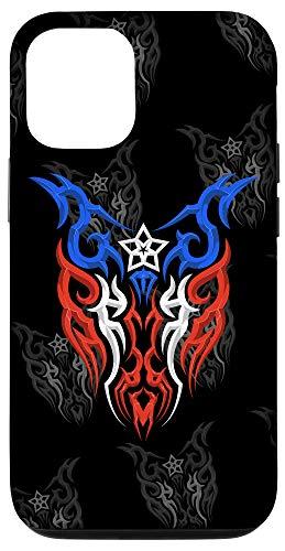 iPhone 12/12 Pro Puerto Rico Flag - Boricua Tribal Style - Puerto Rican Pride Case