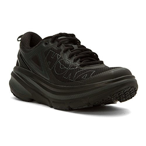 Price comparison product image HOKA ONE ONE Men Bondi 4 Running Sneaker Shoe,  Black,  US 10