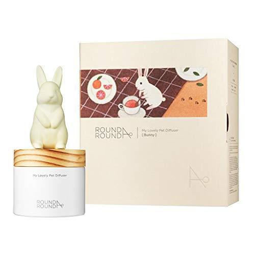 Difusor de fragrância de palheta de gesso redondo, Bunny