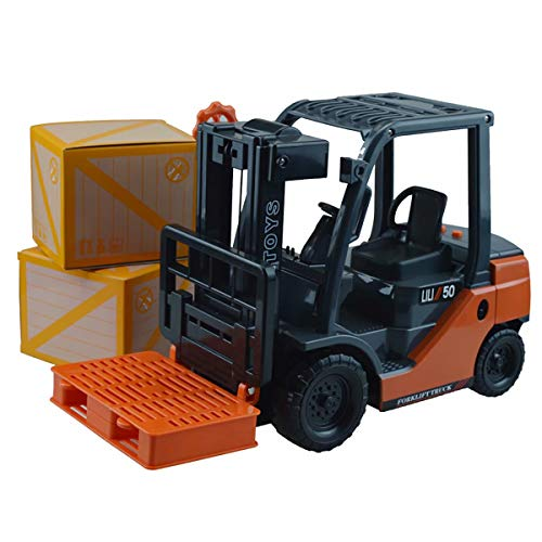XZJT ntelligent Sound and Light Version Inertia Engineering Vehicle Large Forklift Internal Combustion Type Children