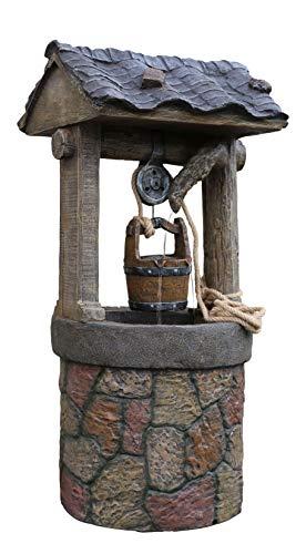 Wonders Beyond New 42' Electric Wishing Well Water Fountain Polyresin/Fiberglass Outdoor