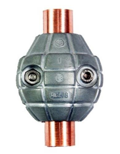 "Zinc Anode 3/4"" Corrosion Grenade # AC Zincs ACZ-3/4"