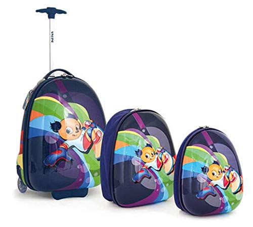 Enfants Kit de Trolley shanmao and Jimi, Lilas (Violet) - SMJM-12LF0318