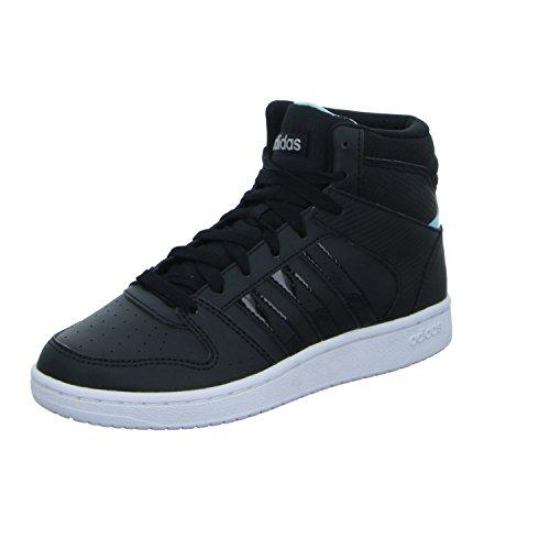 adidas VS HOOPSTER MID W B74237 Damen Training Stiefeletten, schwarz, D 6 ( EU 39 1/3)