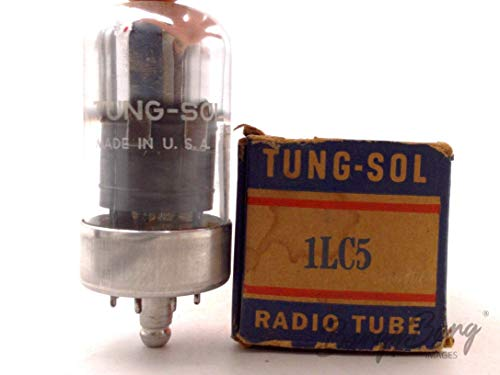 Review Of Vintage Tung-Sol 1LC5/CV777 Sharp Cutoff Battery Pentode Amp. Valve - BangyBang Tubes
