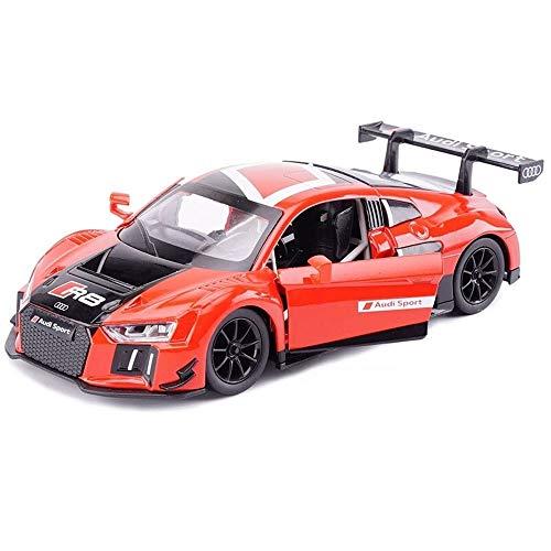 Kikioo Hochwertige Lackierung im Maßstab 1:24 4WD Grand Super Sport Vitesse Stunt-Modell Kinderwagen Rennwagen Metalldruckguss Öffnungstüren Pullback-Funktion Detailliertes Interieur Sound- und Lichte