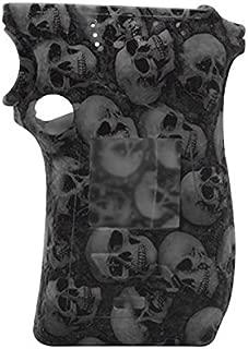 RUIYITECH Funda protectora de silicona para Smoktech SMOK MAG 225 W Mod Right Hand Skull Edition negro
