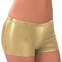 CC Spiritwear Metallic Cheerleading Low Rise Boy Cut Briefs
