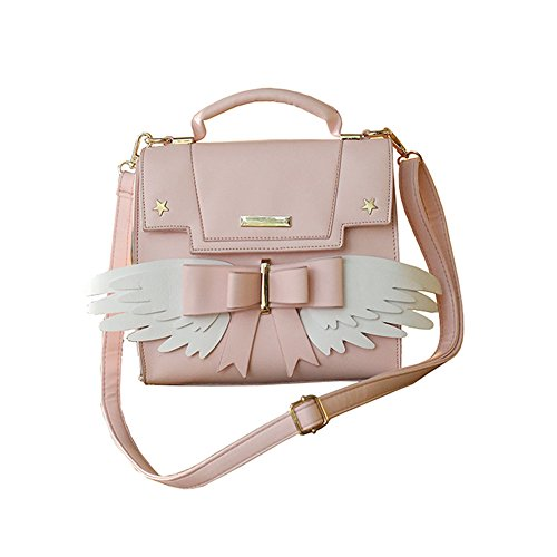 Cardcaptor Sakura Angel Wings Bowknot Cute Lolita Handbag Anime Cosplay Shoulder Bag