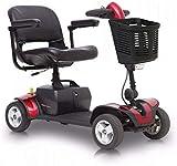 CHAIR Silla de ruedas, silla de rehabilitación médica para personas mayores, personas mayores, orgullo Mobility GoGo Elite Traveler Sport Mobility Scooter Scooters eléctricos livianos para adultos,ro
