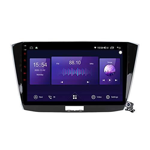 Gokiu Android 10 GPS Navegación del Coche Estéreo para VW Passat B8 Magotan 2015-2018 con 10,1 Pulgada Táctil Soporte Split Screen/FM RDS Radio/Control del Volante/Carplay Android Auto,7862: 6+128