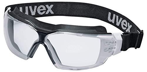 Uvex Pheos cx2 Sonic Supravision Extreme - Gafas de protección (transparente), color blanco y negro