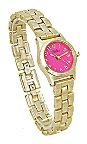 Reflex LB110 - Reloj para Mujeres, Correa de Metal Color Dorado