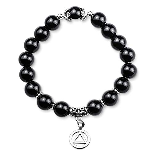 AA Sobriety Bracelet Alcoholics Anonymous Gifts Addiction Recovery Gift NA AA Recovery Gift Sobriety Jewelry