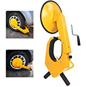 Trailer Wheel Locks - Car Wheel Lock Anti-Theft Security Tire Wheel Boot Tire Claw Parking Boots For Atv Truck Rv Boat Trailer