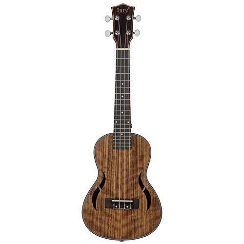 Ukelele Ukelele Tenor Ukelele 26 pulgadas madera de nogal 18 trastes guitarra acústica Ukelele caoba cuello Hawaii 4 cuerdas guitarra
