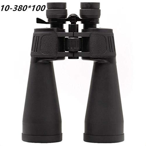 10X-380 × 100 Super Zoom verrekijker voor volwassenen, HD groothoek grote diameter Professionele hoge lichtdoorlatendheid Duurzame verrekijker voor vogelspotten jacht