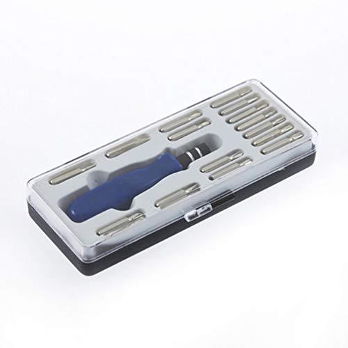 SWEEPID Juego de 15 destornilladores de precisión Torx de reparación para iPhone, teléfono móvil, tableta, PC,...